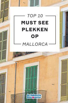 Mallorca is zomer na zomer een populaire bestemming onder Nederlanders. Zo ook dit jaar. Dat snappen we! Je kunt op dit eiland niet alleen genieten van zon, zee en strand, maar is óók veel te zien en te doen! Kijk jij mee naar de leukste bezienswaardigheden op Mallorca? Vacation, Travel, Palmas, Majorca, Trips, Viajes, Traveling, Holiday, Outdoor Travel