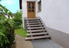 FIMEXO Außentreppen Aussen-Treppen - Bildergalerie Freitragende Aussentreppen