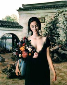 Oil Paintings by Xie Chuyu | Art and Design