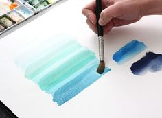 The Alison Show: Watercolor Tutorial Part 4 – Layering { let dry between painting translucent layers }
