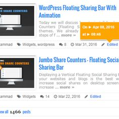 Display Recent Posts With Featured Thumbnails in Blogger
