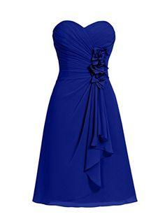 Dresstells® Short Chiffon Prom Dress with Flower Sweetheart Bridesmaid Dresses Dresstells http://www.amazon.co.uk/dp/B00ZR1V6HI/ref=cm_sw_r_pi_dp_Vp0Ewb0ABMQTW