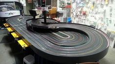 Unique and different track designs - Page 3 - Slot Car History Car Racing Video, Slot Car Racing, Slot Car Tracks, Slot Cars, Race Cars, Car Racer, Motor Car, Carrera, Airplanes