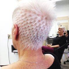 Pixilated cut