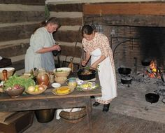 1850 farming inohio - Google Search 1830-1850 kitchen