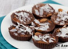 Dr. Axe - Coconut Almond Joy's - Healthy & Delicious recipe.