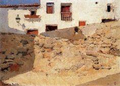 Rincón típico pintado por Sorolla.