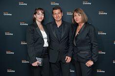 Delphine Ernotte Cunci, David Lisnard (1er adjoint au Maire de Cannes) et Christine Albanel