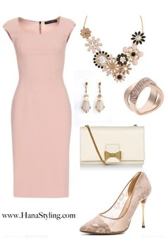Pink Pale elegant look
