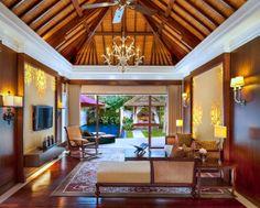 The Laguna Pool Villa Living Room (1 Bedroom)