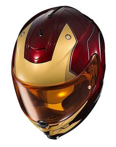 HJC IS 17 Marvel Series Iron Man Helmet 2