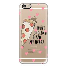 iPhone 6 Plus/6/5/5s/5c Case - You've stolen a pizza my heart ($40) ❤ liked on Polyvore featuring accessories, tech accessories, phone, phone cases, cases, iphone case, slim iphone case, iphone cover case and apple iphone cases