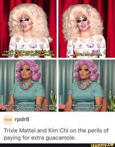 Trixie Mattel & Kim Chi, speakin' the truth