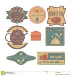 set-retro-vintage-badges-ribbons-labels-hipster-coffee-shop-restaurant-64654500.jpg (1300×1390)