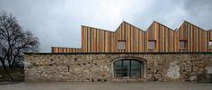 JACER –Training Center in Předlice, Ústí nad Labem by 3+1 Architects. Photography © Pavel Plánička. Click above to see larger image.