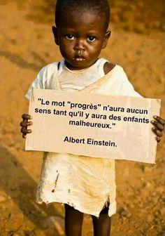 Belle citation de Albert Einstein ...