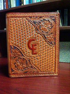 Custom for Nikki: Hand tooled leather by FeatherRiverLeather