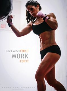 Dont wish for it                                Work for... #fitness #fit #fitnessmotivation