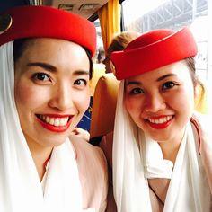 Absolutely I need someone I know in my flight!!!!卒業旅行の学生さんたくさん乗ってて機内で初めて日本語使いました。下手すぎてちゃんと日本語勉強しないと。。笑 #エミレーツ #emiratescabincrew #rome #layover