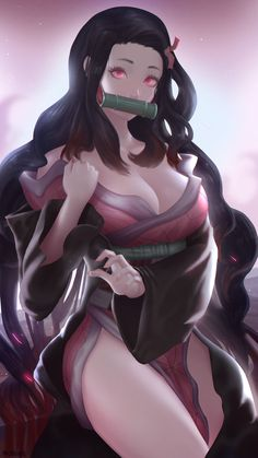 Nezuko by McDobo on DeviantArt Tifa Final Fantasy, Drawing Female Body, Character Description, Drawing Tools, Best Artist, New Art, Female Bodies, Cosplay, Deviantart
