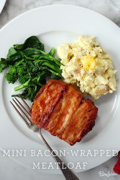 Try our Mini Bacon-Wrapped Meatloaf as a fun dinner for all, kids included.