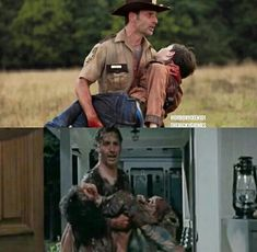 The Walking Dead Season 2 and 6 Rick and Carl Grimes http://bestonlinedealsnow.myshopify.com/collections/the-walking-dead