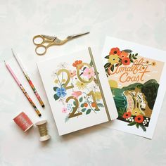 The sun 🌞 has finally arrived Better late than never 🎉 . . #riflepaperco #studiocarta #plannerlovers #planneraddict #organisedlife #giftwrap #giftwrapping #ribbon Studio C, Rifle Paper Co, Life Organization, Cute Illustration, Stationery, Happy Birthday, Greeting Cards, Ribbon, Gift Wrapping