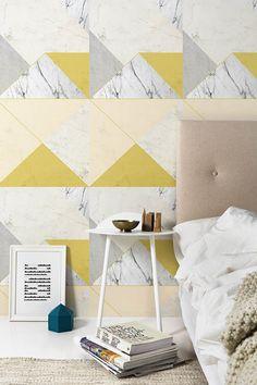Lilesadi Marble Concrete Wallpaper