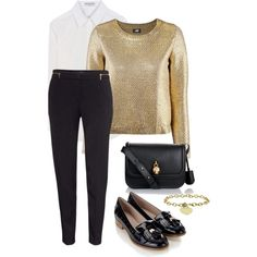 Silence is gold by mpociute on Polyvore featuring Balenciaga, H&M, Monsoon and Alexander McQueen