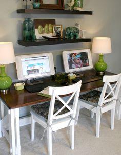 Office Desk For 2 Reveal On Ideas