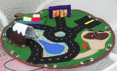 Portable Car Playmat with tunnel and car wash - really cool!