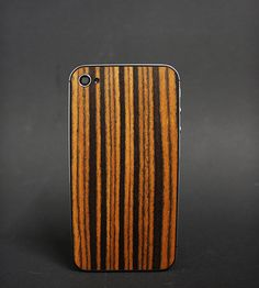 Ebony Wood iPhone case