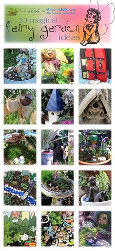 Fairy Gardens Idea Box by Finding Home 23 magical fairy gaden ideas!