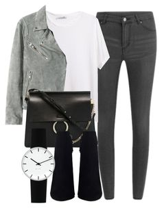 """Untitled #5271"" by laurenmboot ❤ liked on Polyvore featuring Cheap Monday, T By Alexander Wang, Chloé and Rosendahl"