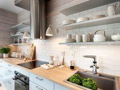 Oras Optima - smart kitchen faucet with a dishwasher valve and hybrid function. Black Dishwasher, Stainless Steel Dishwasher, Smart Kitchen, Kitchen On A Budget, Kitchen Flooring, Kitchen Cabinets, Washing Dishes, Nordic Design, Kitchen Remodel