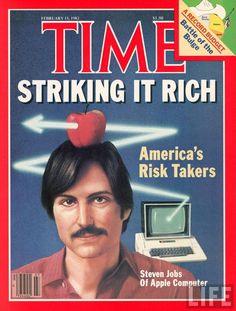 Steve Jobs - Portada de Time - 15 Febrero 1.982