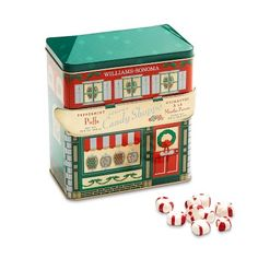 Sonoma Candy Shop Peppermint Puffs #williamssonoma Get them people!  #redbird1890