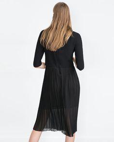 Image 4 of MIDI DRESS from Zara