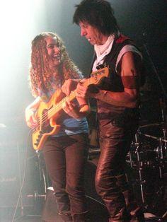 Tal Wilkenfeld & Jeff Beck Both on Bass