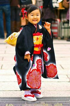 Little girl in Japan