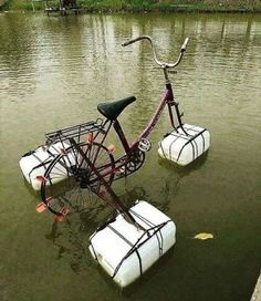 Floating your bicycl