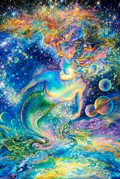 """Space Maid 1"" par Josephine Wall"