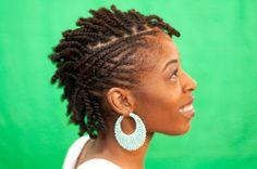 Designed Cornrows | Black Women Natural Hairstyles