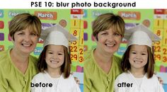 Blurring the background in photoshop! If I only knew they had a deselect magic wand! :) I know now!