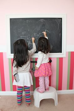 framed chalkboard 1