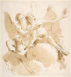 Time and Truth / Giovanni Battista Tiepolo