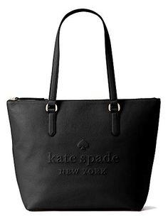 Kate Spade Genuine Leather Shoulder Handbags, Penny, Larchmont Ave Logo