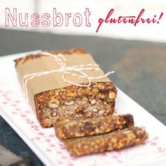 Nut bread without Nuss-Brot ohne Mehl Nut bread gluten free. Paleo Bread, Bread Baking, Sin Gluten, Gluten Free, Brunch Recipes, Paleo Recipes, Bread Recipes, Desayuno Paleo, Crepes
