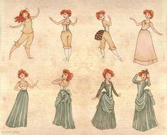 A Lady's Dressing Proccess by Ninidu on deviantART