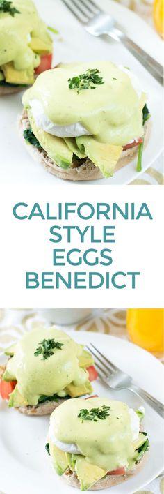 California-Style Eggs Benedict | http://cakenknife.com